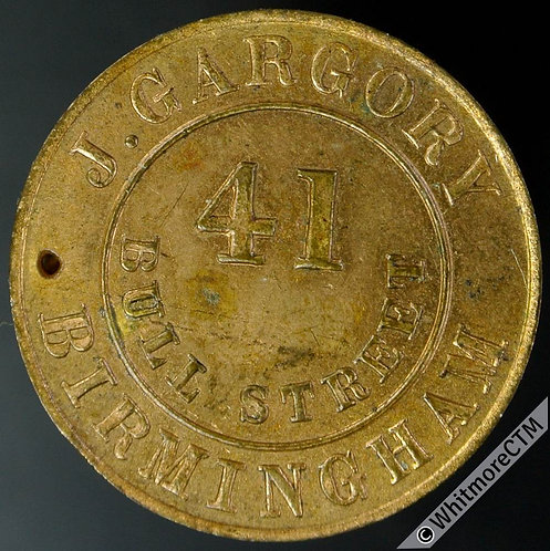 Unofficial Farthing Birmingham J.Gargory (As 401) Unrecorded die combination