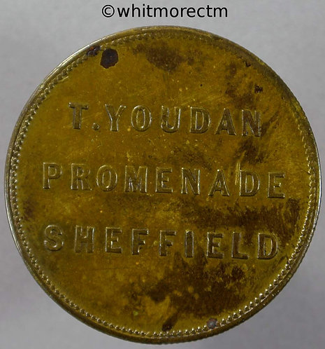 Sheffield Inn / Pub Token 32mm T.Youdan - Promenade / View of building.