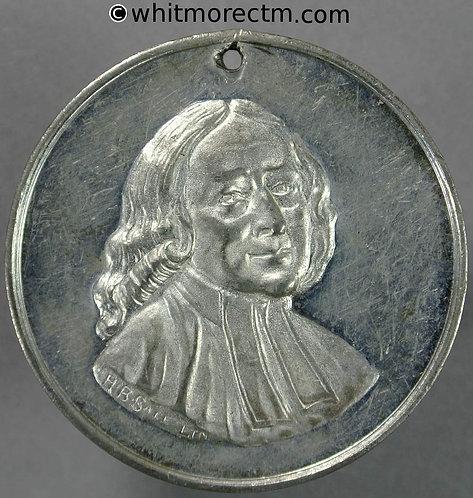 1900 Wesleyan Methodist twentieth century fund Medal 41mm