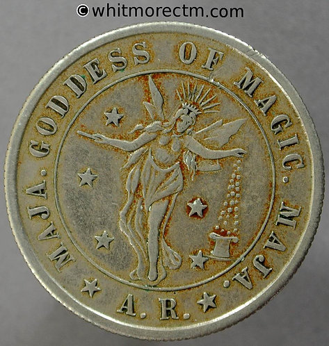 Toy Coin Maja Goddess of magic A.R. Same both sides31mm Rogers 1433