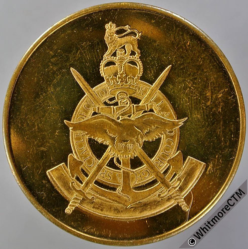 1989 99th Year of the Royal Tournament Medal 38mm Gilt bronze