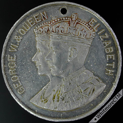 Birmingham & Coventry 1937 Coronation Medal 38mm WE7025B Speedwell Gearcase Co