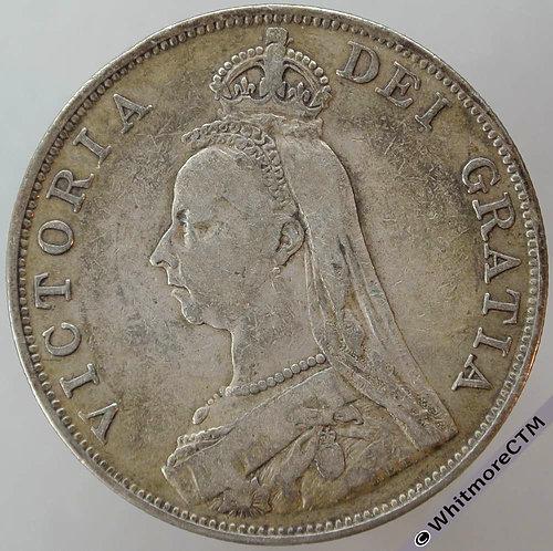 1889 Double Florin - Victoria