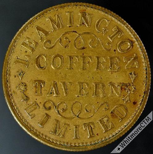 Leamington Coffee Tavern Ltd Refreshment Token One penny worth of Refreshment