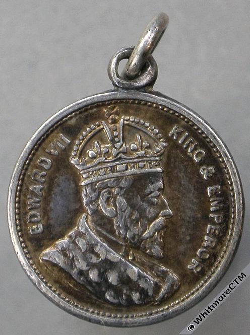 1902 Edward VII Coronation Medal 16mm C&W4429A - Silver