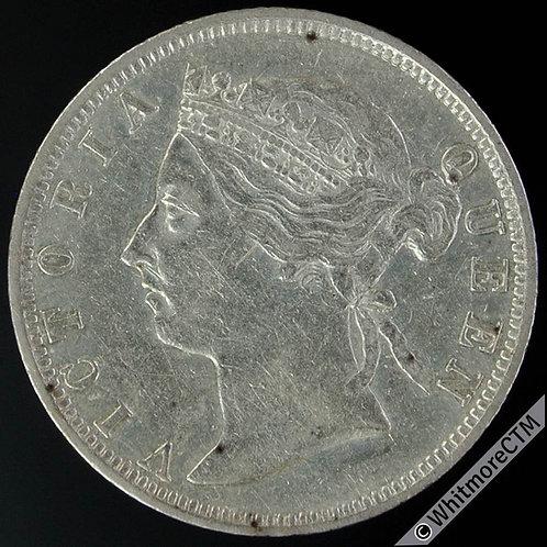 1895 British Honduras 25 Cent Y4