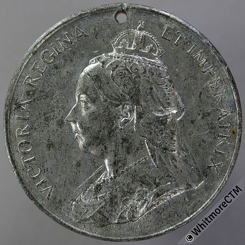 1897 Victoria Diamond Jubilee Medal 39mm B3549 By B'ham Mint  W.M.