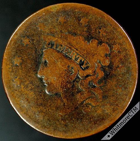 1837 USA 1 Cents