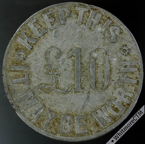 Oldham Token 34mm See the Weekly Standard Today / Keep this it may be worth £10