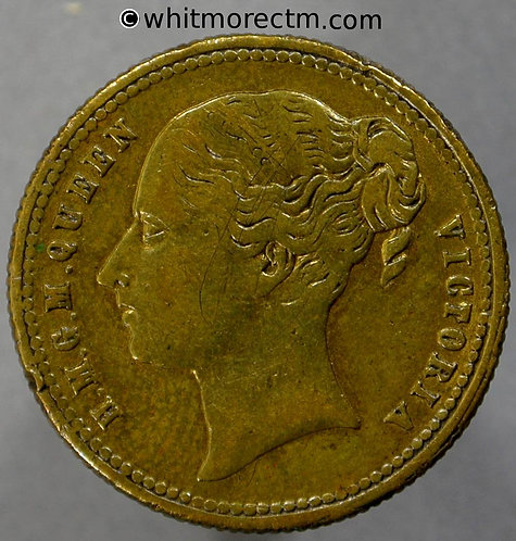 1862 Crystal Palace International Exhibition Medal 23mm B2754 SKB270 Gilt Brass