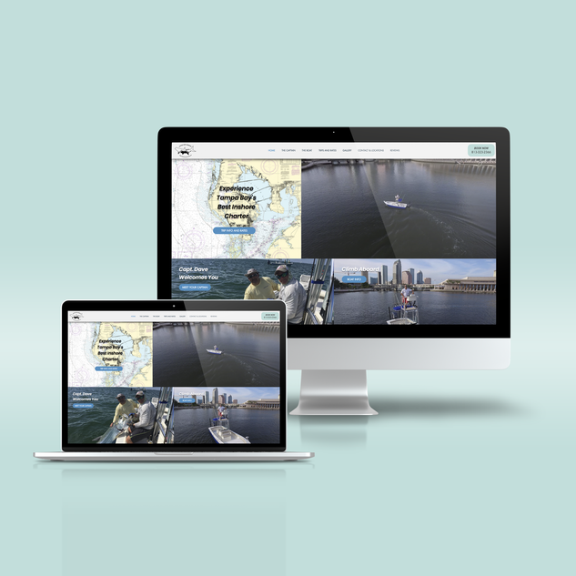 Website Design for Tampa Inshore Fishing