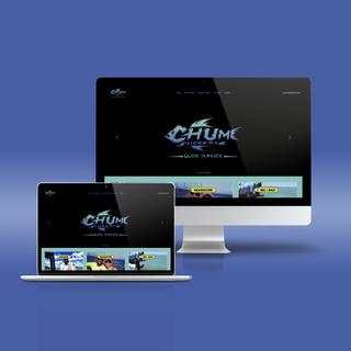 Website Design for Chum Slickers Guide Service