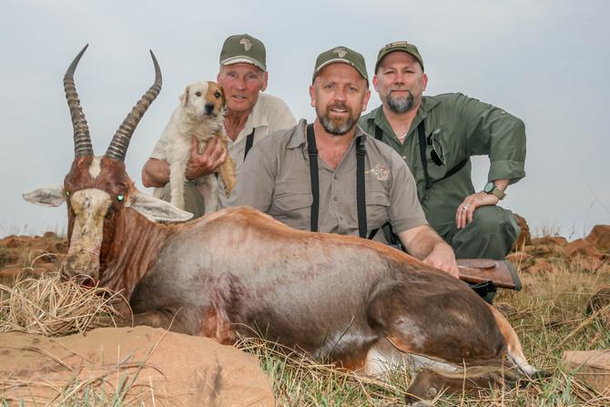 Shaun Hall, Dennis Hall & Terry Gilliland Safari