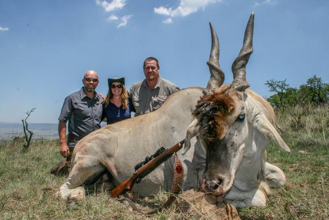 Shaun and Cathy Hall Safari