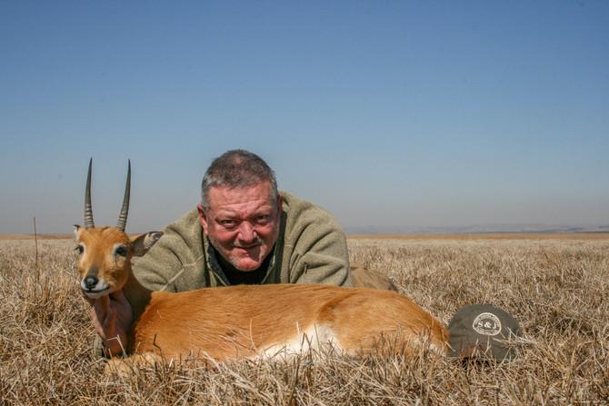 Joe Collett and Randy Randall Safari