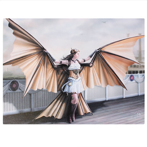 The Aviator (Anne Stokes) Canvas Print 25x19cm