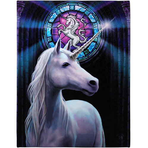 Enlightenment Wall (Anne Stokes) Canvas Print 19x25cm