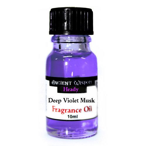 Deep Violet Musk Fragrance Oil - 10ml