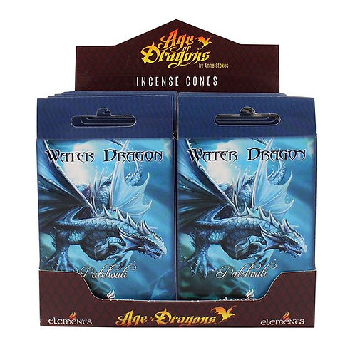 Water Dragon Incense Cones (Anne Stokes)