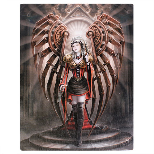 The Avenger (Anne Stokes) Canvas Print 19x25cm