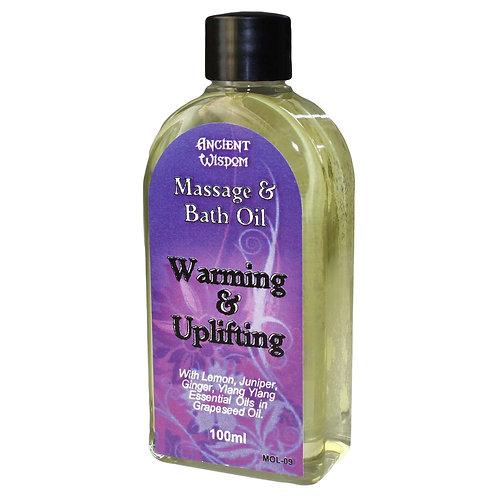 Warming & Uplifting Massage Oil - 100ml