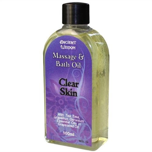 Clear Skin Massage Oil -100ml