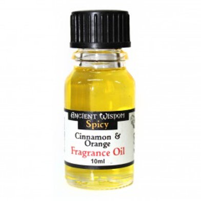 Cinnamon & Orange Fragrance Oil - 10ml