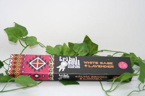 Tribal Soul White Sage & Lavender Incense Sticks