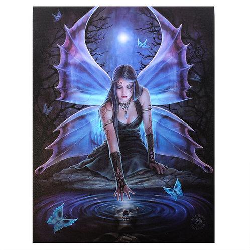 Immortal Flight (Anne Stokes) Canvas Print 19x25cm