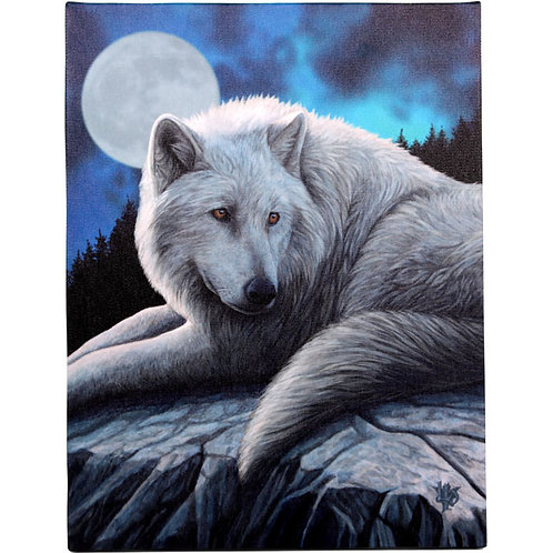 Guardian of the North (Lisa Parker) Canvas Print 19x25cm