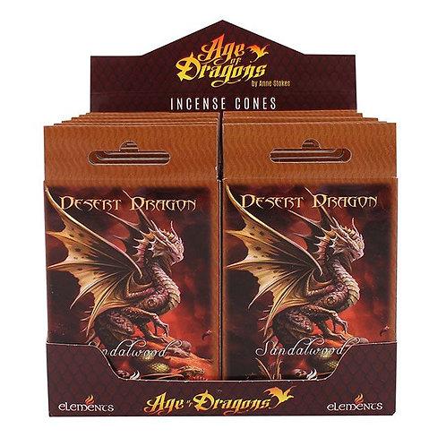 Desert Dragon Incense Cones (Anne Stokes)