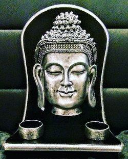 We have this beautiful Buddha Tea Light Candle Holder available in store now _3 come along to 52 Fre