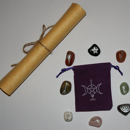 Witch Stones with Casting Circle