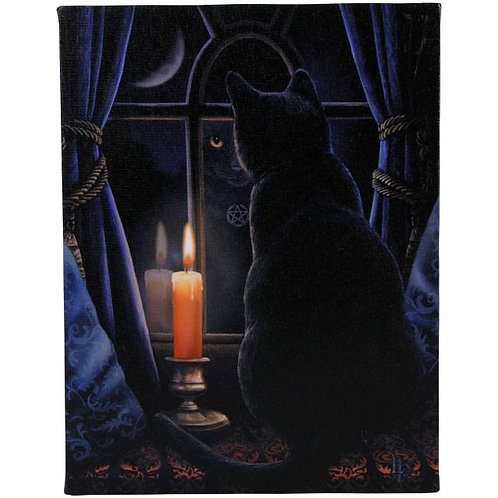 Midnight Vigil (Lisa Parker) Canvas Print - 19x25cm