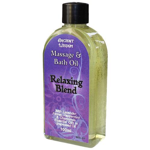 Relaxing Massage Oil - 100ml
