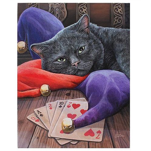 Jester (Lisa Parker) Canvas Print - 19x25cm