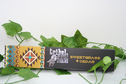 Tribal Soul Sweetgrass & Cedar Incense Sticks