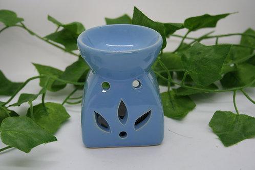 Petal Effect Oil Burner - Blue