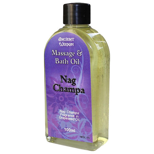 Nag Champa Massage Oil-100ml
