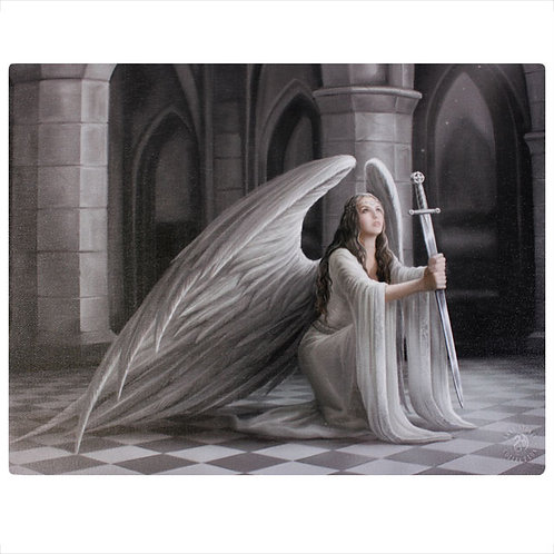 The Blessing (Anne Stokes) Canvas Print 19x25cm