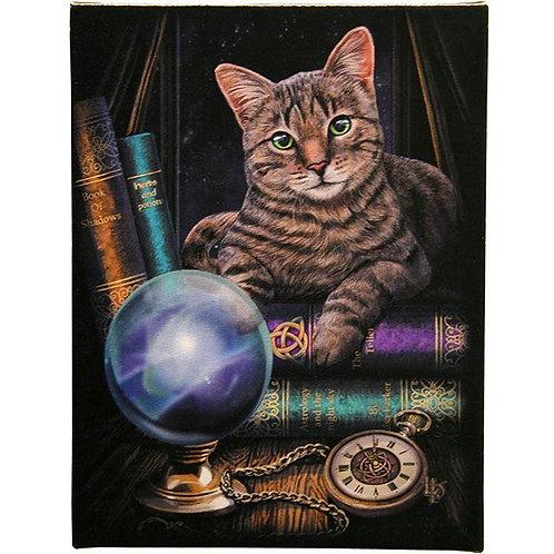Fortune Teller (Lisa Parker) Canvas Print - 19x25cm
