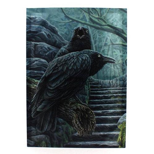 Watchmen (Lisa Parker) Canvas Print -19x25cm