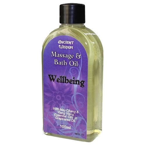 Wellbeing Massage Oil - 100ml