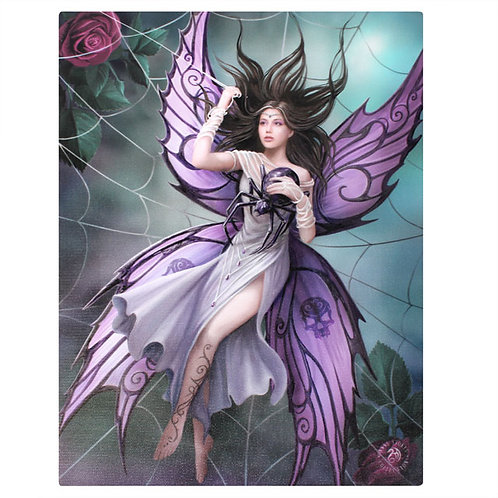 Silk Lure (Anne Stokes) Canvas Print 19x25cm