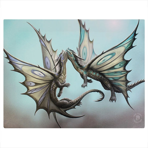 Fly Away With Me (Anne Stokes) Canvas Print 25x19cm