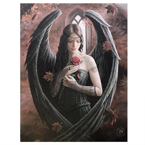 Angel Rose Canvas Print 19x25cm