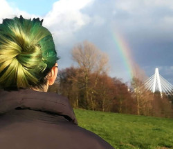 Bex with a Rainbow