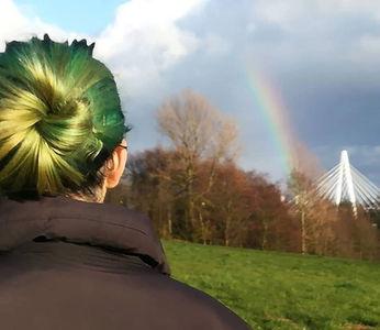 Bex with a Rainbow.jpg