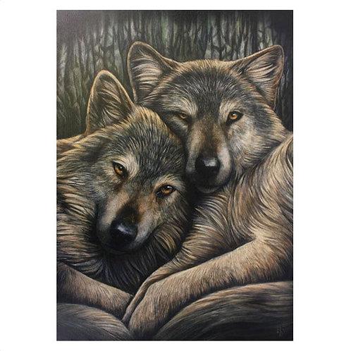 Loyal Companion (Lisa Parker) Canvas Print - 19x25cm