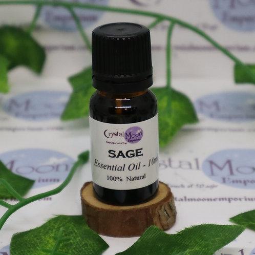 Sage Essential Oil - 10ml